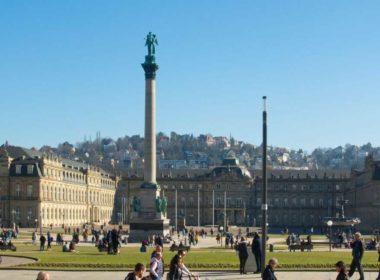 Stuttgart's Schlossplatz (Palace Square)