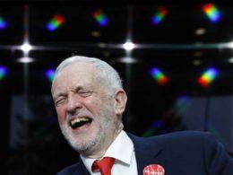 jeremy corbyn and that bm sticker