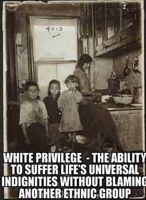 white privelege